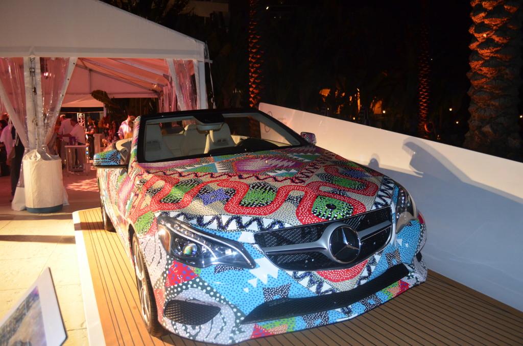 mbfw swim, miami swim week, mara hoffman car, 2014 cabriolet